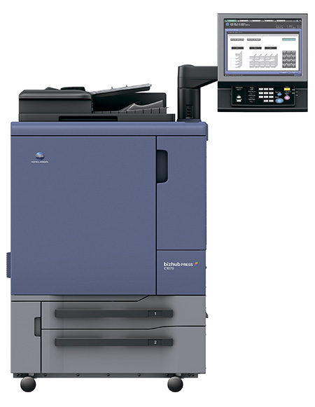 Konica Minolta bizhub PRESS C1070P